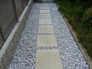 ガデナストーン(オリジナル石材)の施工例です。