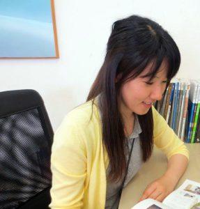 山口 新入社員 福江絢子です。 宜しく お願い致します。
