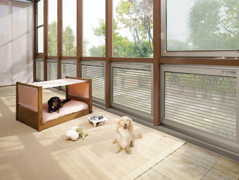 ガーデンルームで愛犬のライフスタイルを刷新!
