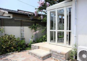 ガーデンルーム 暖蘭物語 お庭のリフォーム