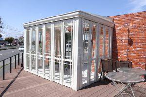 ガデナ宇部店 ガーデンルームやカーポート展示しています♪