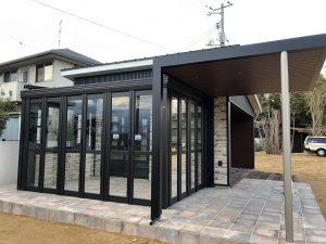 ガーデンルーム暖蘭物語+プラスGブラック 完成!