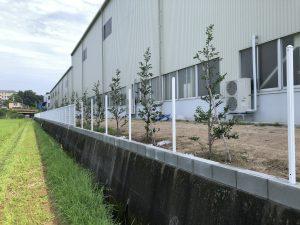 フェンス  ユニフェンス工事  山陽小野田市