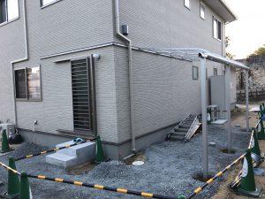 特殊納まり屋根テラス