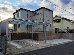 山陽小野田市M様邸 カースペース拡張工事&カーポート!完成しました