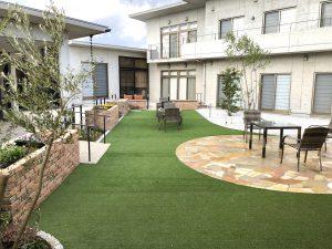 ガーデンリニューアル完成 居宅介護施設