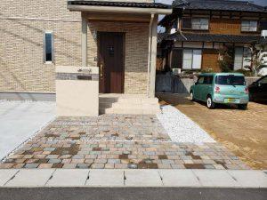 新築エクステリア工事 完成しました! 山陽小野田市M様邸