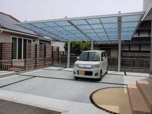 一条工務店 新築エクステリア 宇部市K様邸 完成!