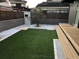 人工芝も施工方法と選定で大きな仕上がりの差